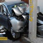 """""""@prensa_libre: """"Estoy bolo"""", dijo un piloto que estrelló un auto en la zona 10. http://t.co/vmuPDE1v59"""" Todavía con los postits. 😂😂😄😄😄"""