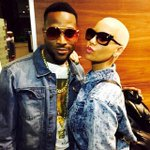 It's turn up time! D'banj (and his dogs) welcome Amber Rose to Lagos (See Photos) http://t.co/q9gJf7YQbH http://t.co/xomh13rZWA