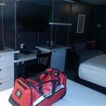 """@NicholasJay20: ""@ZKG380: Room for the night #NOLA #504 #QUEEN #CRESCENTS http://t.co/T3ukcRkMdr"" da hell?"" Da bit cleannnnnnnnnnnnn"