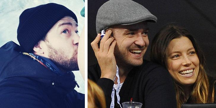 Justin Timberlake confirms Jessica Biel is pregnant - with a BEAUTIFUL baby bump photo!