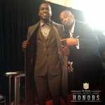 .@AntonioBrown84's outfit is Prime-Approved! #NFLHonors