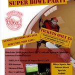 Less than 24hrs to go before Superbowl 2015 with the @IpswichCardinal, open till very late!!!!! http://t.co/Au3zgoW984
