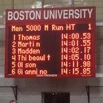 Surprise du jour à Boston ! Antoine Thibeault 4e en 14:05.10 au 5000m. @Athl_FQA @titoine_track @Trackie http://t.co/V2TFBsilc9
