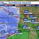 Where snow is falling, temperatures remain a few degrees above freezing. Take a while for it to accum tonight. #INwx http://t.co/oimN0yPy2Q