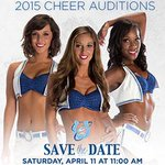 Interested in becoming a 2015 Colts Cheerleader? Here are some important dates to know:  http://t.co/h7w3GAag5C http://t.co/OLCVLu2EUx
