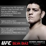 #UFCStats #DontBeScaredHomie @NickDiaz209 #UFC183 TONIGHT on Pay-Per-View http://t.co/QAdYxy10F8