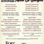 Here is the menu for Dine in Maison @HighHopesBrian #heho @FDVoyageur @PegCityGrub @TourismWPG http://t.co/O0MepOD0gE