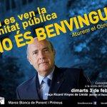 Que bonic: Boi Ruiz va a Lleida el dia 3 i @MareaBlancaLl el vol rebre com es mereix @15MBcnSalut @sicomtelevision http://t.co/mAOG5thNcW