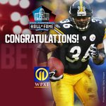 BREAKING NEWS: The Bus is headed to Canton! CONGRATS @JeromeBettis36 http://t.co/lrT6rK6bcr