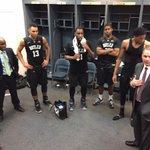 Locker room photo from todays overtime winner vs Marquette. #GoDawgs http://t.co/2FpZVVVrUC