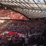 Leicester at Manchester United. #LCFC http://t.co/6yDdmqA3zS