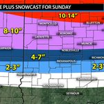 Latest zoomed in forecasts for Northern & Central Indiana. Near blizzard conditions for Northern Indiana likely #INwx http://t.co/ZHHpA3ygC0