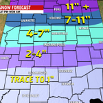 My preliminary snowfall map for central IN. May change once the 00Z data comes in. #INwx @FOX59 http://t.co/6mLmg9nM7Q