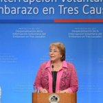 Chile: Bachelet presenta proyecto de ley para despenalizar aborto http://t.co/RH45cWFrOk http://t.co/nn4URukhqK