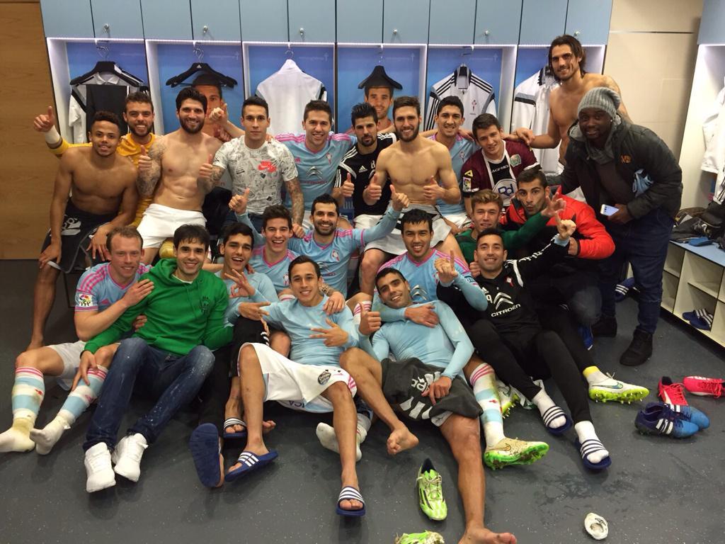 ¡¡¡Por fiiinnn!!! Merecidísimo y sufrido triunfo del equipo!