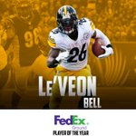 Congratulations to @L_Bell26, who was named 2014s @FedEx Ground Player of the Year! READ: http://t.co/4HvfhDf08A http://t.co/MGHTuwWj68