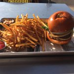 A #DTLA gem: @FoodHausCafe Amazing food, great service. Manager made me the #CEO #burger on the house! #foodporn http://t.co/MZaGWhtybi