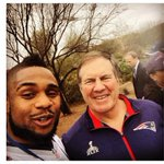 BELICHICK SELFIE ALERT! The Best picture from #Patriots photo day was taken by @StevanRidley on his cell phone! #SB49 http://t.co/fpOVWC0Yn1