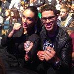 Celebridades brasileiras na platéia do #UFC183. Curtindo!! #GoSpider #beSpider #GreatTimesAreComingBack http://t.co/jVZR3YlMhQ
