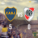 #Boca 5 - River 0. http://t.co/7AfXMX5oFk