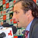 """""""Tenemos que lograr que el equipo sea del todo sólido, el resultado de hoy nos deja cosas para trabajar"""". J.A.Pizzi http://t.co/xdp1zM6Y8z"""
