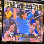 Put @hunterpence on the scoreboard, #Warriors take lead shortly thereafter. Coincidence??? @SFGiants http://t.co/ekLD8E97e2