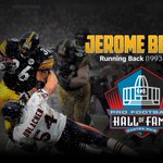 The Bus is headed to the @ProFootballHOF!  Congratulations to @JeromeBettis36 on a well-deserved honor! http://t.co/X80ae10WEp