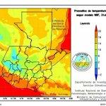 Para horas de la noche y madrugada se esperan temperaturas mínimas de 2° centígrados en el Occidente y Altiplano http://t.co/FMUfyWHRgZ