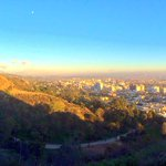 Weekend ritual: #LA sunset hike. #mydayinLA http://t.co/zTJzzmcdsG
