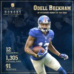 Well deserved and earned! #NYG RT @nfl: Congratulations to @OBJ_3! 2014 Offensive Rookie of the Year! #NFLHonors http://t.co/TkQOy1QCI0