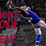 Congrats to Odell Beckham Jr on winning Offensive Rookie of the Year! This catch certainly helped http://t.co/uYH9vdxarX