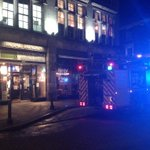 Crews attended fire at royal London public house discarded cigarette caused damage and early close, smokers take care http://t.co/1p4AZBUMFt