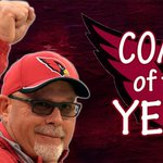 Bruce Arians wins Coach of the Year! Arians led the Cards to their first playoff appearance since 2009 http://t.co/RepezDGjnq
