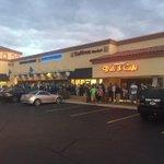 100+ Seahawks fans in line at Skeptical Chymist (Scottsdale Seahawks bar) http://t.co/rJZO3d8uxj