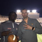 @Hunnit0nmyway_2 and I in the best stadium in College Football on a Saturday night! Nothing better! http://t.co/XC0DMD5lkq