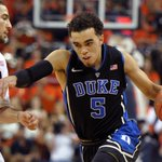 Its all over! Duke goes on road and hands No. 2 Virginia its first loss of  season, 69-63. Tyus Jones: 17 Pts, 4 Ast http://t.co/g60yDGtUo0
