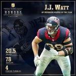 Watt! Watt! Watt! @JJWatt is the 2014 Defensive Player of the Year! #NFLHonors http://t.co/R9gnV5OA00
