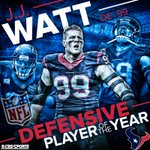 J.J. Watt named 2014 Defensive Player of the Year. First time ever a unanimous vote. http://t.co/LaHgEpuHVE
