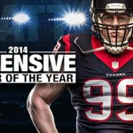You mess with him...you got problems. Thats all we know.  Congrats @JJWatt! Defensive Player of the Year! http://t.co/cuW5td8Fu3