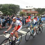 Watch the @CadelRoadRace live on @Channel7. Great shots of #Geelong! http://t.co/q5LlV24e1E