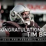 Congratulations to @81TimBrown - headed to @ProFootballHOF! http://t.co/7mfJYGS8Tm