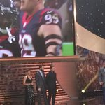 """Thankful even 4 cafeteria people they make so much food @HoustonTexans facility"" #NFLHonors #DPlayerOfYear @JJWatt http://t.co/eXw5sUM6Ev"