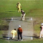"""@Geelong_Mayor : Today in 1981 Trevor Chappell delivered the ball in cricket history at the MCG! http://t.co/1OBObTwvdy"""