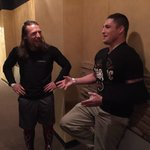 #WWE had a special guest today in #WWEAlbuquerque as @DiegoSanchezUFC talked with @WWEDanielBryan about #YesYesYes! http://t.co/autWa48dtd