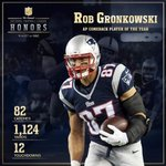 Congrats to Gronk on being named the 2014 NFL Comeback Player of the Year! #NFLHonors http://t.co/h8rbwqcfYI