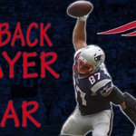 GRONK wins Comeback Player of the Year! He caught 12 TD passes after having injury problems last year http://t.co/m6GPSJp8Nk