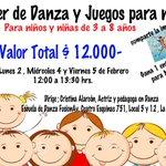 Un entretenido taller a sólo $12.000!! Para NIÑOS Y NIÑAS de 3 a 8 años #LaSerena @arriendoscqboxd @adnradiochile http://t.co/8CgefxGHTs