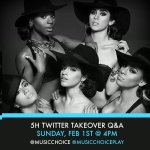 Tomorrow at 4pm ET, well be answering your questions with @MusicChoice! Tune in 😊 http://t.co/o0I0kXHUrb