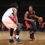 We the North! Kyle Lowry scores 23 Pts as Raptors fend off Wizards in OT, 120-116. Toronto wins 6th straight game. http://t.co/Ngn9t7gYM6