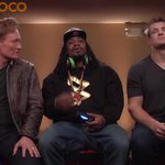 VIDEO: The outtakes from Marshawn Lynch's segment with Conan O'Brien and Gronk are fantastic http://t.co/6MT77WWXHv http://t.co/uhw7SOCCtm